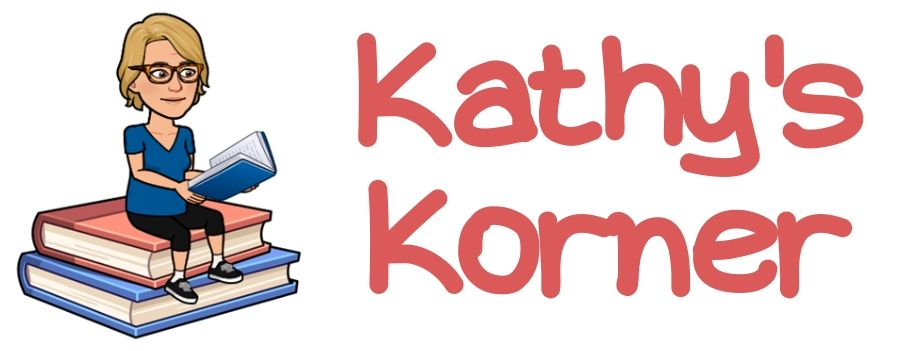 Banner for Kathy's Korner book review page.