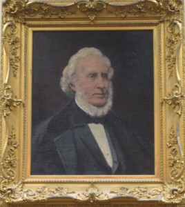 portrait of Llewellyn Lithgow